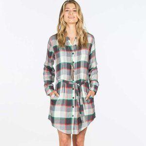 NEW Matilda Jane Coming to Town Plaid Dress, XL